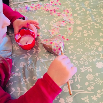 Bauble Decorating at The Cartshed Cafe - great for all ages!